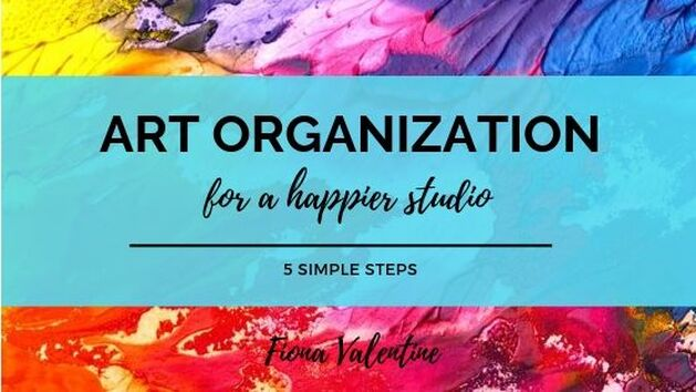 Art Organization blog header by Fiona Valentine