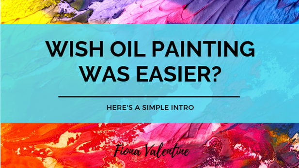 Blog Header image Oil Painting How To